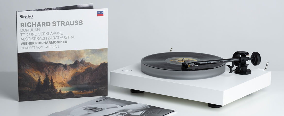 "Pro-Ject Audio Systems ""Richard Strauss"" with Vienna Philharmonic and Herbert von Karajan"