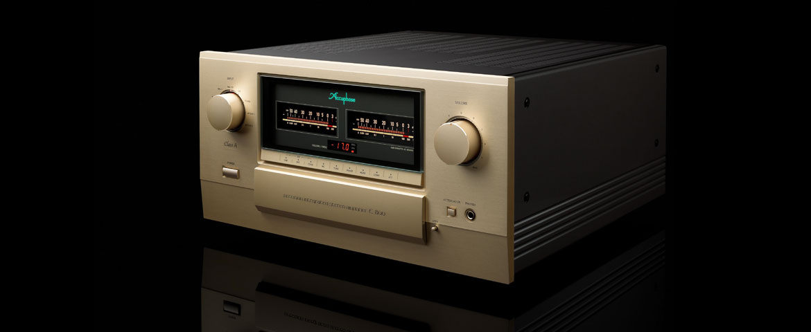 Accuphase E-800 Precision Integrated Stereo Amplifier