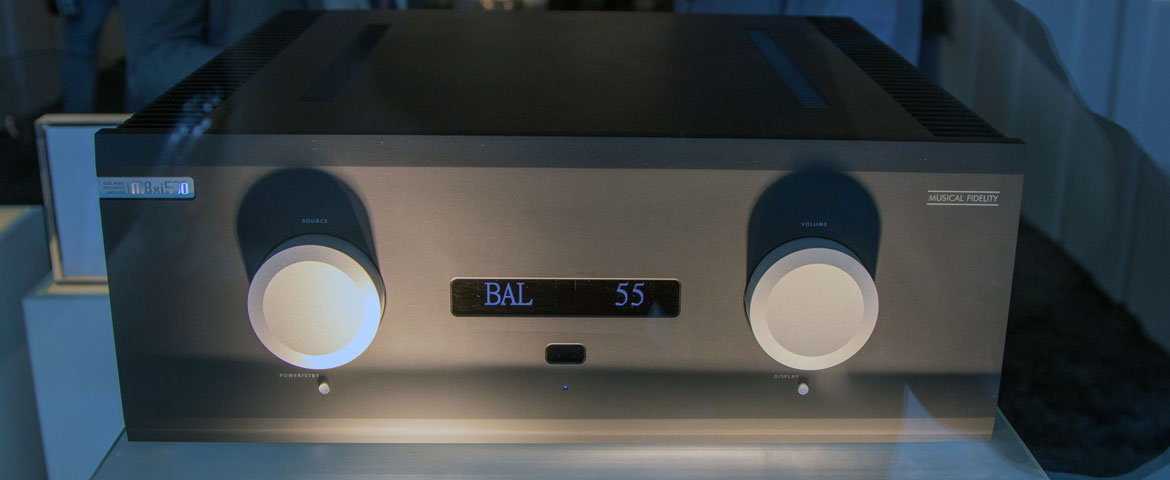 Musical Fidelity M8xi 500 Dual Mono Integrated Amplifier