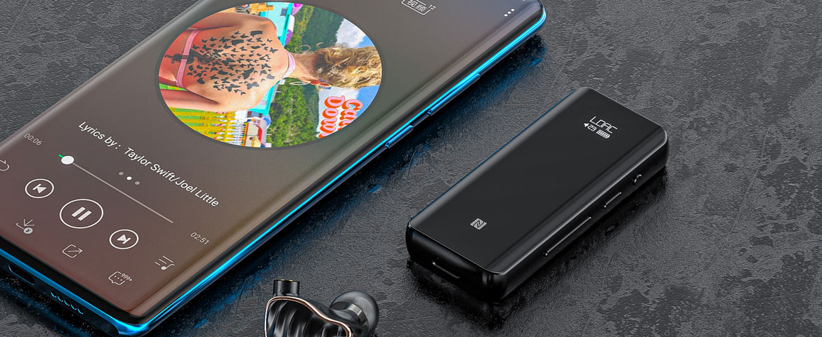 FiiO BTR5 Flagship Portable High-Fidelity Bluetooth Amplifier